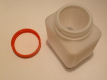 HDPE Weithalsflasche 500ml