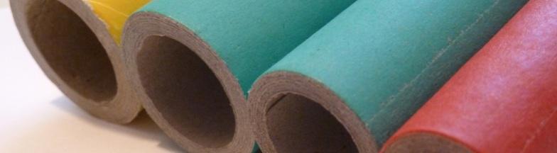 paper tubes. papphülsen